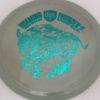 CD2 - Swirly S Line - Dana Vicich Roaming Thunder 2 - teal - 175g - 175-7g - pretty-domey - neutral