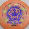 Predator - Swirl ESP - Ledgestone - blue-fracture - 173-175g - 175-2g - somewhat-domey - somewhat-stiff