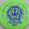 Predator - Swirl ESP - Ledgestone - blue-fracture - 173-175g - 175-4g - somewhat-domey - somewhat-stiff