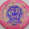 Predator - Swirl ESP - Ledgestone - blue-fracture - 173-175g - 174-5g - somewhat-domey - somewhat-stiff