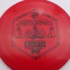 Infinite Discs Exodus - red - s-blend - black - 167g - 167-6g - super-domey - neutral