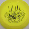 Infinite Discs Slab - yellow - metal-flake-c-blend - black - 175g - 176-3g - super-flat - somewhat-stiff