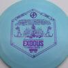 Infinite Discs Exodus - light-blue - s-blend - purple - 163g - 164-0g - pretty-domey - neutral