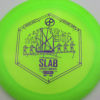 Infinite Discs Slab - green - metal-flake-c-blend - purple - 171g - 172-2g - neutral - somewhat-stiff