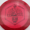 Infinite Discs Slab - redpink - metal-flake-c-blend - black - 175g - 174-2g - somewhat-domey - somewhat-stiff