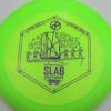 Infinite Discs Slab - green - metal-flake-c-blend - purple - 171g - 172-5g - somewhat-domey - somewhat-stiff