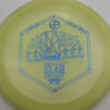 Infinite Discs Slab - light-yellow - metal-flake-c-blend - blue - 169g - 170-9g - neutral - somewhat-stiff