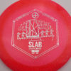 Infinite Discs Slab - pink - metal-flake-c-blend - silver - 168g - 168-2g - neutral - somewhat-stiff
