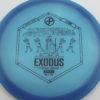 Infinite Discs Exodus - blue - c-blend - black - 172g - 172-6g - somewhat-domey - neutral