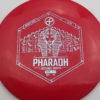Infinite Discs Pharaoh - red - i-blend - light-blue - 167g - 167-0g - somewhat-flat - somewhat-stiff