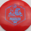 Infinite Discs Pharaoh - redorange - i-blend - blue - 159g - 160-2g - somewhat-domey - neutral
