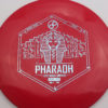 Infinite Discs Pharaoh - red - i-blend - light-blue - 166g - 166-9g - somewhat-flat - somewhat-stiff