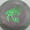 Infinite Discs Pharaoh - swirly - s-blend - green - 171g - 172-0g - somewhat-flat - somewhat-stiff
