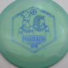 Infinite Discs Pharaoh - swirly - s-blend - blue - 175g - 175-0g - neutral - somewhat-stiff