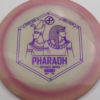 Infinite Discs Pharaoh - swirly - s-blend - purple - 175g - 174-4g - neutral - somewhat-stiff