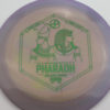 Infinite Discs Pharaoh - swirly - s-blend - green-matrix - 171g - 172-7g - somewhat-flat - somewhat-stiff