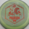 Infinite Discs Pharaoh - swirly - s-blend - red - 167g - 167-9g - pretty-flat - somewhat-stiff