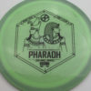 Infinite Discs Pharaoh - swirly - s-blend - black - 175g - 174-7g - neutral - somewhat-stiff