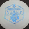 Infinite Discs Exodus - white - s-blend - blue - 175g - 174-0g - pretty-domey - neutral