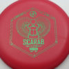 Infinite Discs Scarab - red - d-blend - green - 175g - 173-4g - super-flat - very-stiff