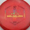 Infinite Discs Ra - red - metal-flake-c-blend - rainbow - 177g - 178-1g - pretty-flat - pretty-gummy