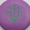 Infinite Discs Anubis - purple - d-blend - green-matrix - 180g - 179-2g - somewhat-domey - pretty-stiff