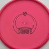 Infinite Discs Cohort - pink - d-blend - black - 175g - 177-2g - somewhat-flat - somewhat-gummy