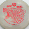 PD - Swirly S Line - Colten Montgomery Lone Howl - red - 175g - 175-6g - somewhat-flat - neutral