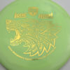 PD - Swirly S Line - Colten Montgomery Lone Howl - gold - 175g - 175-0g - somewhat-flat - neutral