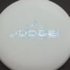 Test Plastic Judge - white - silver-fracture - 154g - 154-3g - super-flat - neutral