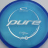 Kristin Tattar Opto-X Pure - blue - silver - 174g - 175-3g - super-flat - somewhat-stiff