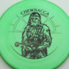 Star Wars - Discraft - zone - swirly - esp - black - 304 - 170-172g - 172-8g - pretty-flat - somewhat-stiff