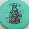 Star Wars - Discraft - zone - swirly - esp - black - 304 - 170-172g - 173-3g - pretty-flat - somewhat-stiff