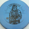 Star Wars - Discraft - zone - swirly - esp - black - 304 - 170-172g - 172-9g - pretty-flat - somewhat-stiff