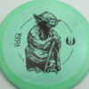 Star Wars - Discraft - force - swirly - esp - black - 304 - 173-175g - 175-0g - somewhat-domey - pretty-stiff