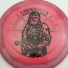Star Wars - Discraft - force - swirly - esp - black - 304 - 173-175g - 175-9g - somewhat-domey - pretty-stiff