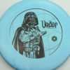 Star Wars - Discraft - zone - swirly - esp - black - 304 - 170-172g - 172-3g - super-flat - somewhat-stiff