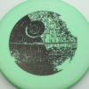 Star Wars - Discraft - zone - swirly - esp - black - 304 - 173-175g - 174-1g - somewhat-puddle-top - somewhat-stiff
