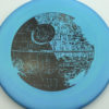 Star Wars - Discraft - zone - swirly - esp - black - 304 - 173-175g - 175-2g - somewhat-domey-in-the-center - pretty-stiff