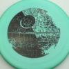 Star Wars - Discraft - zone - swirly - esp - black - 304 - 173-175g - 175-8g - somewhat-domey-in-the-center - pretty-stiff