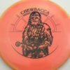 Star Wars - Discraft - buzzz - swirly - esp - black - 304 - 177g-2 - 178-9g - neutral - somewhat-stiff