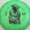 Star Wars - Discraft - force - swirly - esp - black - 304 - 173-175g - 174-6g - somewhat-domey - pretty-stiff
