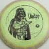 Star Wars - Discraft - force - swirly - esp - black - 304 - 173-175g - 175-4g - somewhat-domey - pretty-stiff