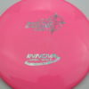 Invictus - pink - star - oil-slick - 175g - 176-7g - somewhat-flat - somewhat-stiff