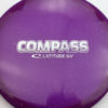 Compass - purple - opto - silver - 304 - 173g - 173-9g - somewhat-flat - neutral