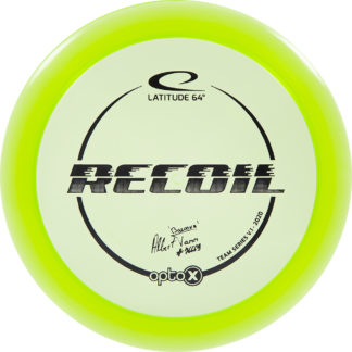 Albert Tamm Opto-X Recoil in green plastic with black stamp.
