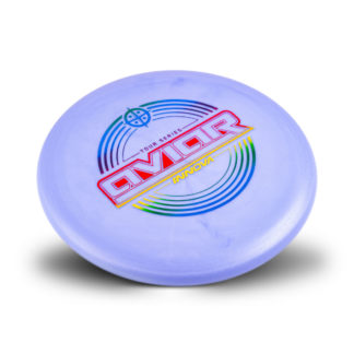 Innova Tour Series Aviar in purple with Rainbow stamp.