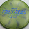 Stalker - Titanium Swirl - Ledgestone - Paige Pierce - blue-pebbles - 175-176g - 176-5g - neutral - somewhat-stiff