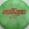 Stalker - Titanium Swirl - Ledgestone - Paige Pierce - red-fracture - 175-176g - 177-7g - neutral - somewhat-stiff