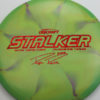Stalker - Titanium Swirl - Ledgestone - Paige Pierce - red-fracture - 175-176g - 177-5g - neutral - somewhat-stiff